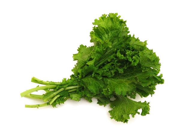 Mustard greens asian greens